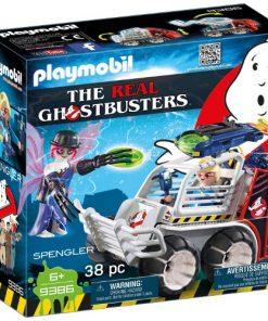 Set de Constructie Ghostbuster - Spengler si Masinuta
