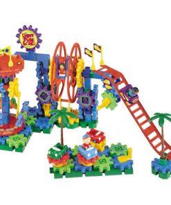 Set de Constructie Motorizat Parcul de Distractii