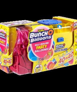 BUNCH O BALLOONS SET PARTY BALLOONS 16 BALOANE SI POMPA - PINK