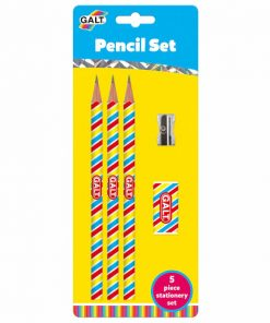 Set 3 Creioane cu Radiera si Ascutitoare