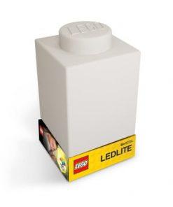 Lumină de veghe LEGO® Classic Brick, alb