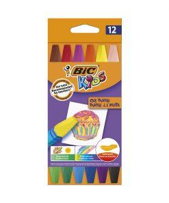 Set creioane colorate Oil Pastel Bic, P12