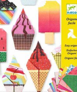Joc origami inghetata djeco