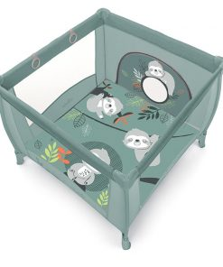 Baby Design Play UP Tarc de joaca pliabil - 04 Light Green 2020