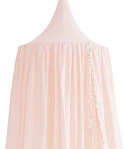 Baldachin Nobodinoz Amour 250x50cm roz