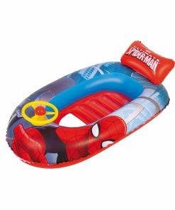 Barca gonflabila Spider-Man cu volan