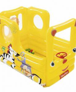 Centru de joaca autobuz gonflabil cu 20 bile