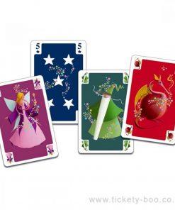 Joc de carti trucuri mini magic djeco