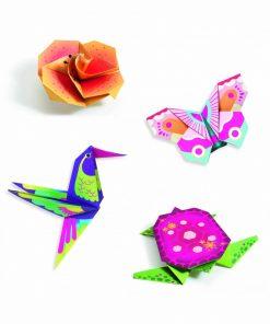 Creeaza origami animale si flori exotice djeco