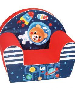Fotoliu din burete pentru copii Kids Space