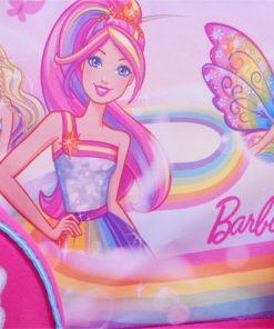 Fotoliu din burete Barbie