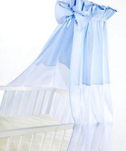 Baldachin universal pentru patut blue