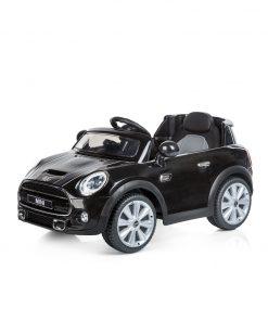 Masinuta electrica cu telecomanda Chipolino Mini Cooper Hatch black