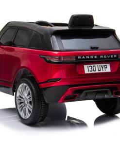 Masinuta electrica Range Rover Velar cu scaun de piele Red