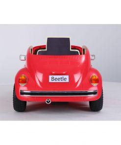 Masinuta electrica cu roti EVA Volkswagen Beetle rosu