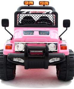 Masinuta electrica 12V cu roti din cauciuc Drifter Jeep 4x4 Pink
