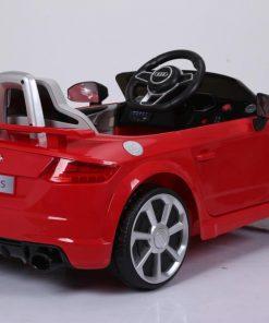 Masinuta electrica cu telecomanda Audi TT Rosu