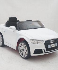Masinuta electrica roti EVA 12V Audi A3 alb