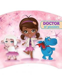 Patut Tineret Lucky 50 Doctor Plushie 140x80 cm