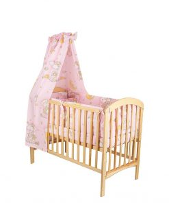 Baldachin patut, ursuletul somnoros, roz, 150x210 cm
