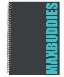 Caiet dictando cu spirala Max Buddies, 64 file