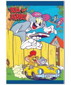 Caiet dictando Tom and Jerry, 10 x 22 cm