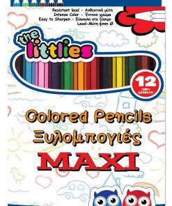 Set de 12 creioane colorate, The Littless