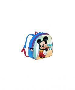 Ghiozdan Mickey Mouse, Summer, albastru