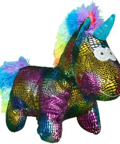 Jucarie de plus Noriel, Unicorn, Multicolor, 24 cm