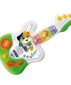 Jucarie muzicala educativa Chicco, 44 Cats, Chitara Lampo, 1-4 ani