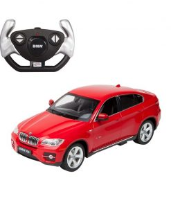 Masina cu telecomanda Rastar BMW X6 1:14, Rosu