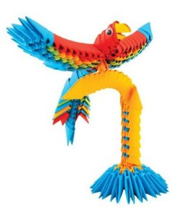 Creagami papagal origami 3d creativamente