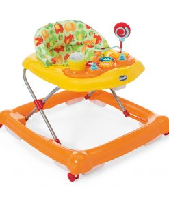 Premergator bebelusi 6 luni+, Chicco Circus, Orange Wave (Portocaliu)