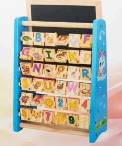 Alfabetar 3 in 1 cu abac si tabla de desenat