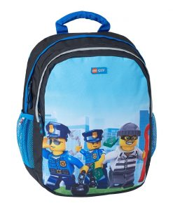 Rucsac gradinita LEGO® Core Line Ergo - City Police Chooper