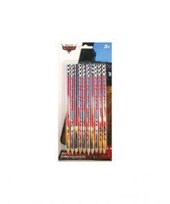 Set 10 creioane colorate, Cars