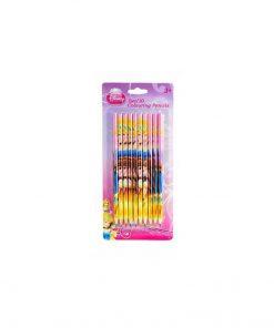 Set 10 creioane colorate, Princess