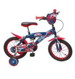 Bicicleta 14 Spiderman - Toimsa
