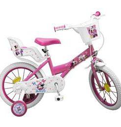 Bicicleta 16 Minnie Mouse - Toimsa