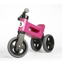 Bicicleta fara pedale Funny Wheels Rider Sport 2 in 1 Pink