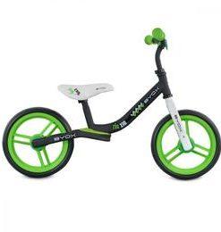 Bicicleta fara pedale Zig-Zag Green