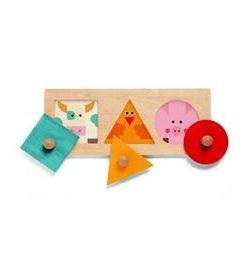 Bigabasic djeco, puzzle forme geometrice - Djeco