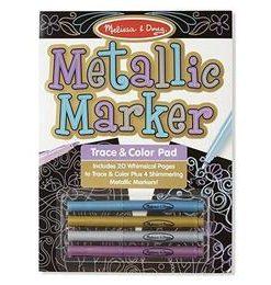 Bloc de desenat contururi metalice Metallic marker
