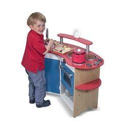 Bucatarie de joaca din lemn Coltul bucatarului