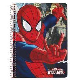 Caiet A5 80 file Spiderman 22x15.5x0
