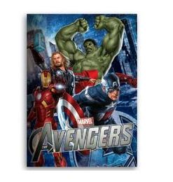 Caiet spirala A4 80 file The Avengers