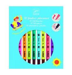 Carioci pensula, culori pop - Djeco