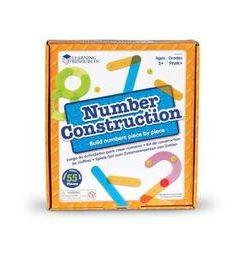 Construieste numere - Set constructie - Learning Resources