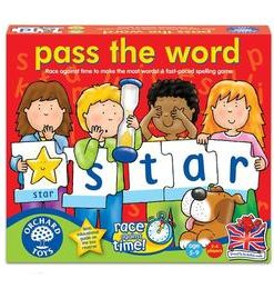 Joc educativ - Pass the Word. Scrie corect contra cronometru