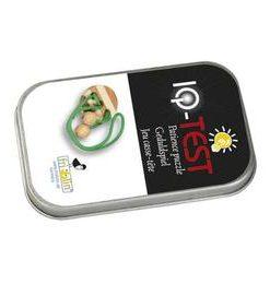Joc logic IQ elibereaza inelul in cutie metalica-1